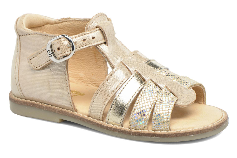 Sandales et nu-pieds Babybotte Teoxana Or et bronze vue détail/paire