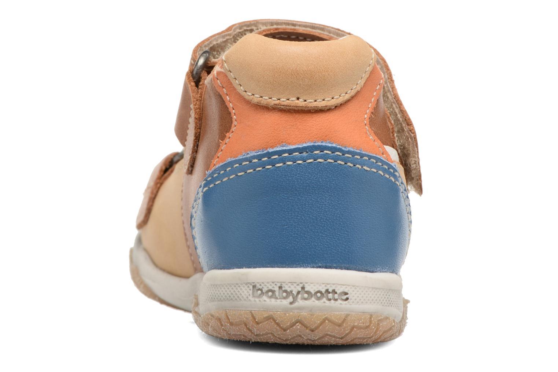 Sandales et nu-pieds Babybotte Tintin Marron vue droite