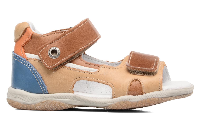 Sandales et nu-pieds Babybotte Tintin Marron vue derrière