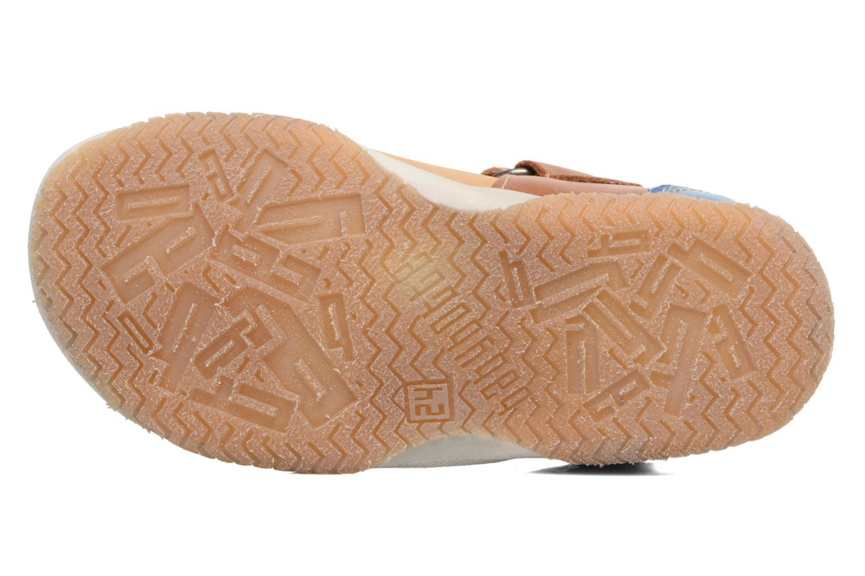 Sandales et nu-pieds Babybotte Tintin Marron vue haut