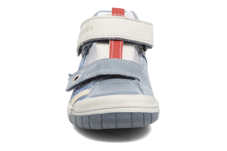 Bottines d'été Babybotte Steppe Bleu vue portées chaussures
