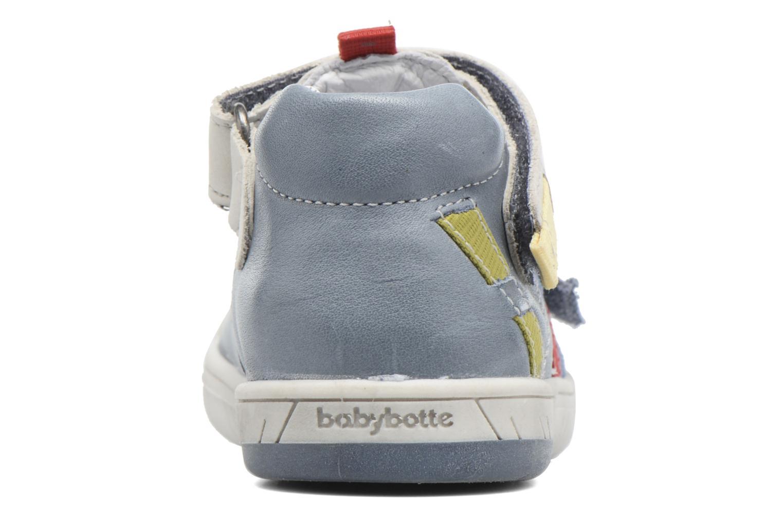 Bottines d'été Babybotte Steppe Bleu vue droite