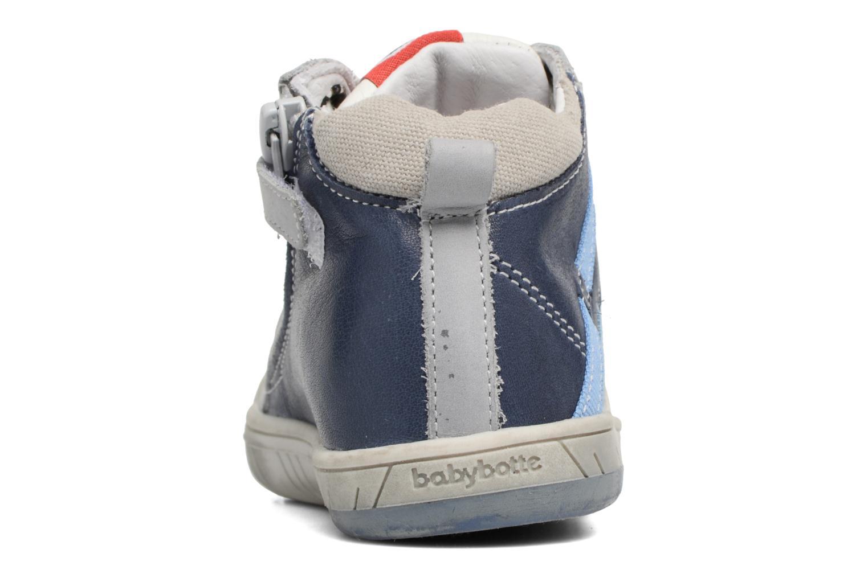 Baskets Babybotte Artistreet Bleu vue droite