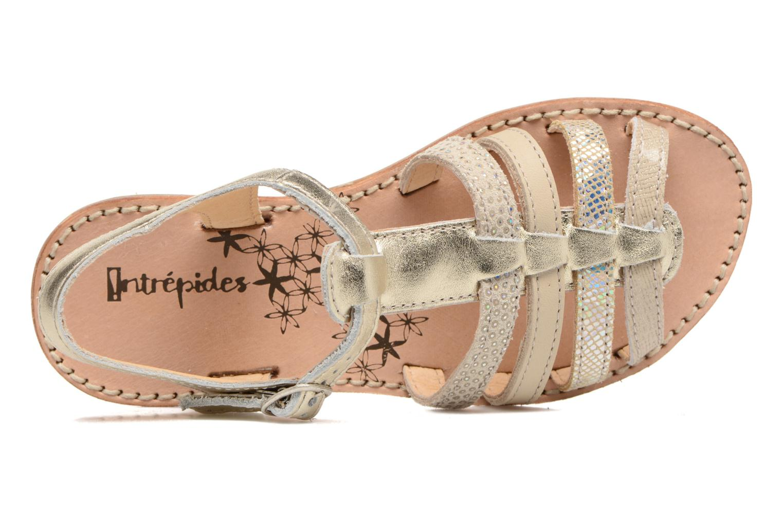Sandales et nu-pieds Babybotte Ylona3 Or et bronze vue gauche