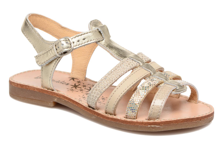Sandales et nu-pieds Babybotte Ylona3 Or et bronze vue détail/paire
