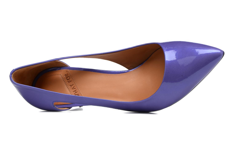 Zapatos de tacón What For Cosmos Azul vista lateral izquierda