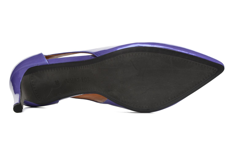 Zapatos de tacón What For Cosmos Azul vista de arriba