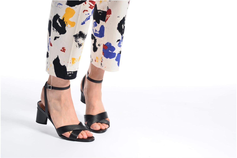 Sandales et nu-pieds What For Sith Beige vue bas / vue portée sac