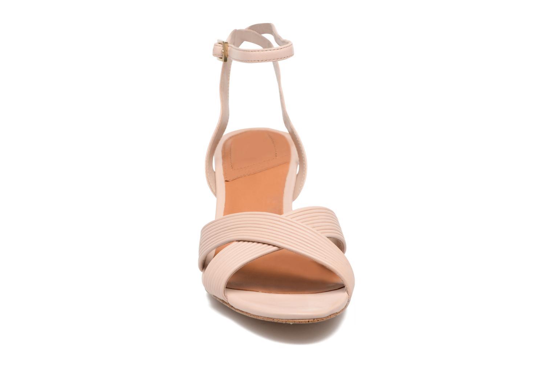 Sandales et nu-pieds What For Sith Beige vue portées chaussures