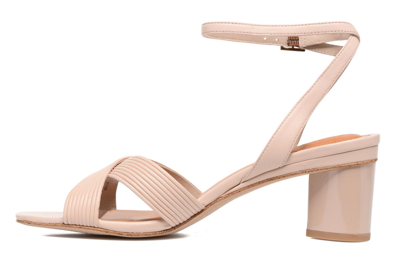 Sandales et nu-pieds What For Sith Beige vue face