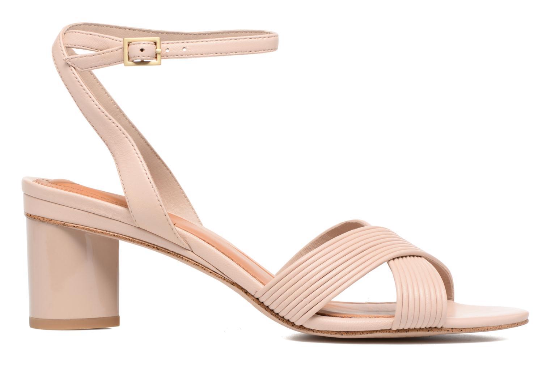 Sandales et nu-pieds What For Sith Beige vue derrière