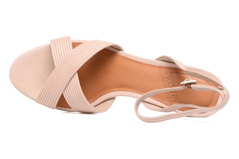 Sandales et nu-pieds What For Sith Beige vue gauche