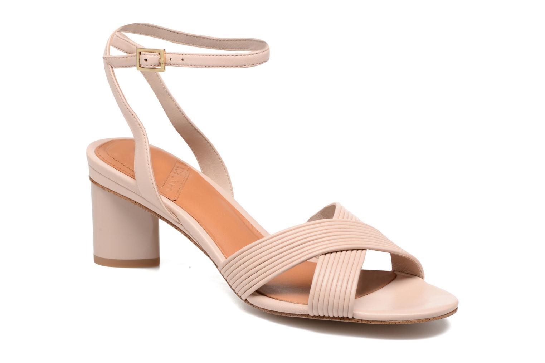 Sandales et nu-pieds What For Sith Beige vue détail/paire