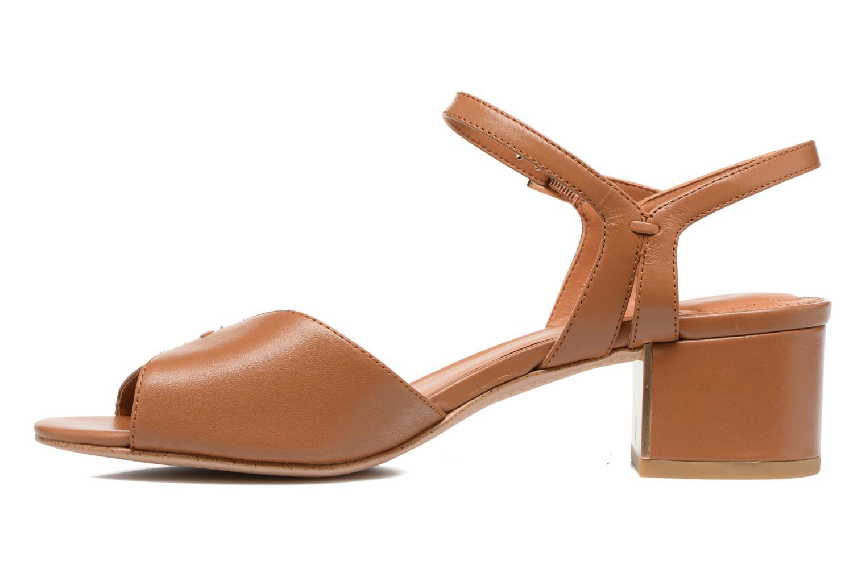 Sandales et nu-pieds What For Mercury Marron vue face