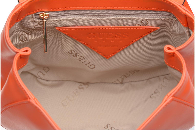 MAELLE Leather Crossbody flap Mango multi