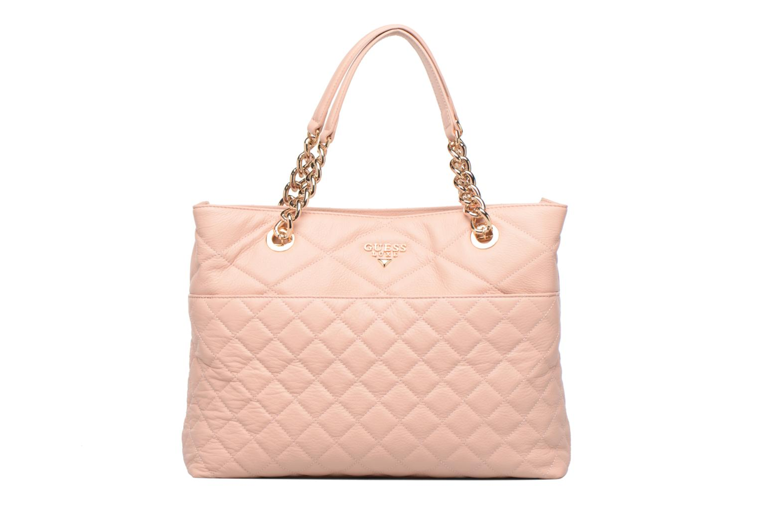 LOU Leather Carryall Rose