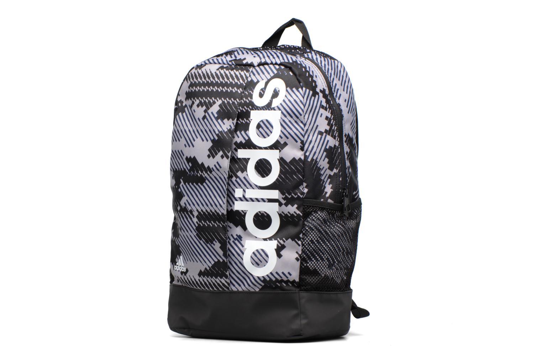 Sacs à dos Adidas Performance LIN PER BP GR Gris vue portées chaussures
