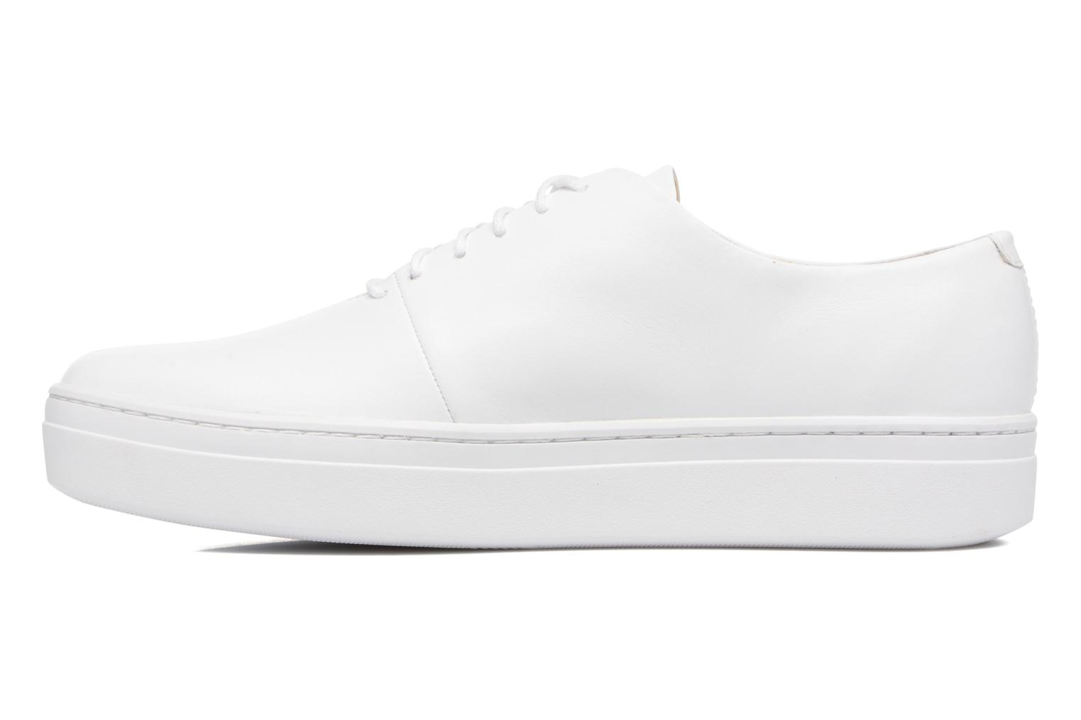 Camille 4346-101 Leather White
