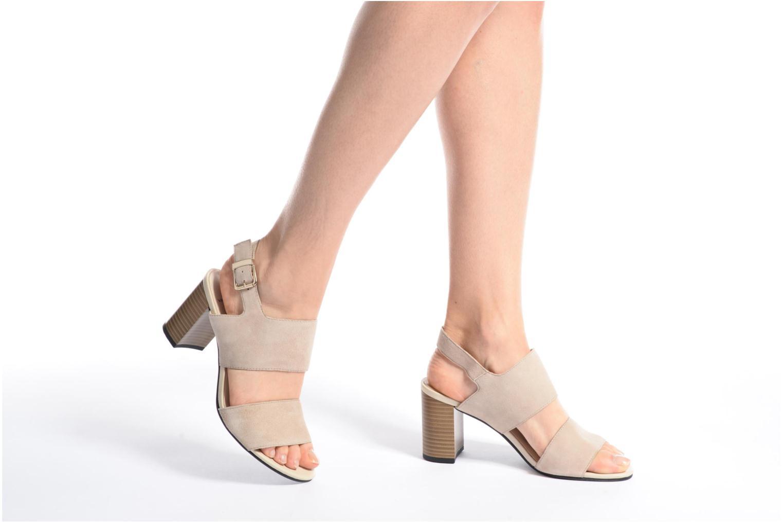 Sandales et nu-pieds Vagabond Shoemakers Beatriz 4337-240 Beige vue bas / vue portée sac