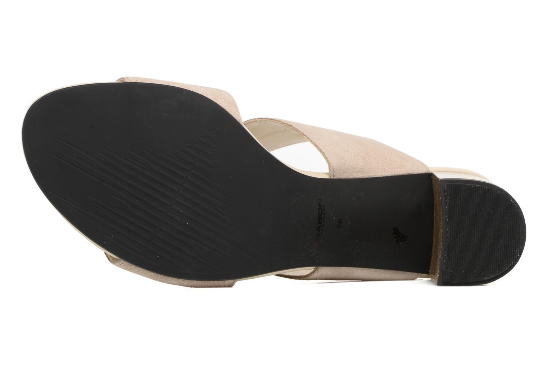 Sandales et nu-pieds Vagabond Shoemakers Beatriz 4337-240 Beige vue haut