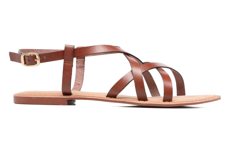 Vina Leather Sandal Henna