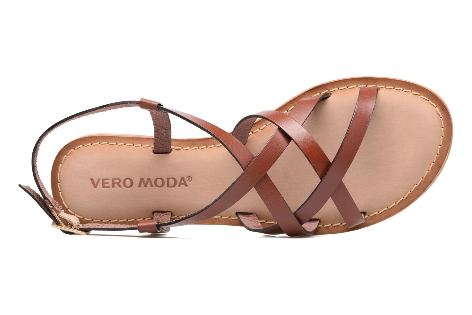 Vina Leather Sandal Henna