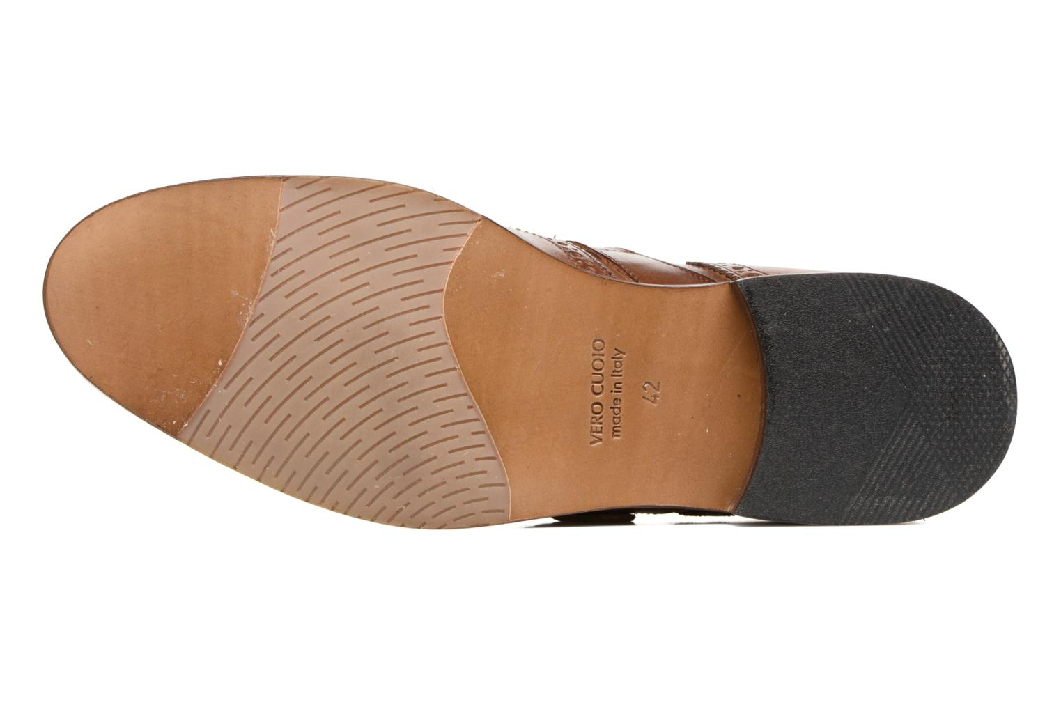 Mocassins Marvin&Co Naring Marron vue haut