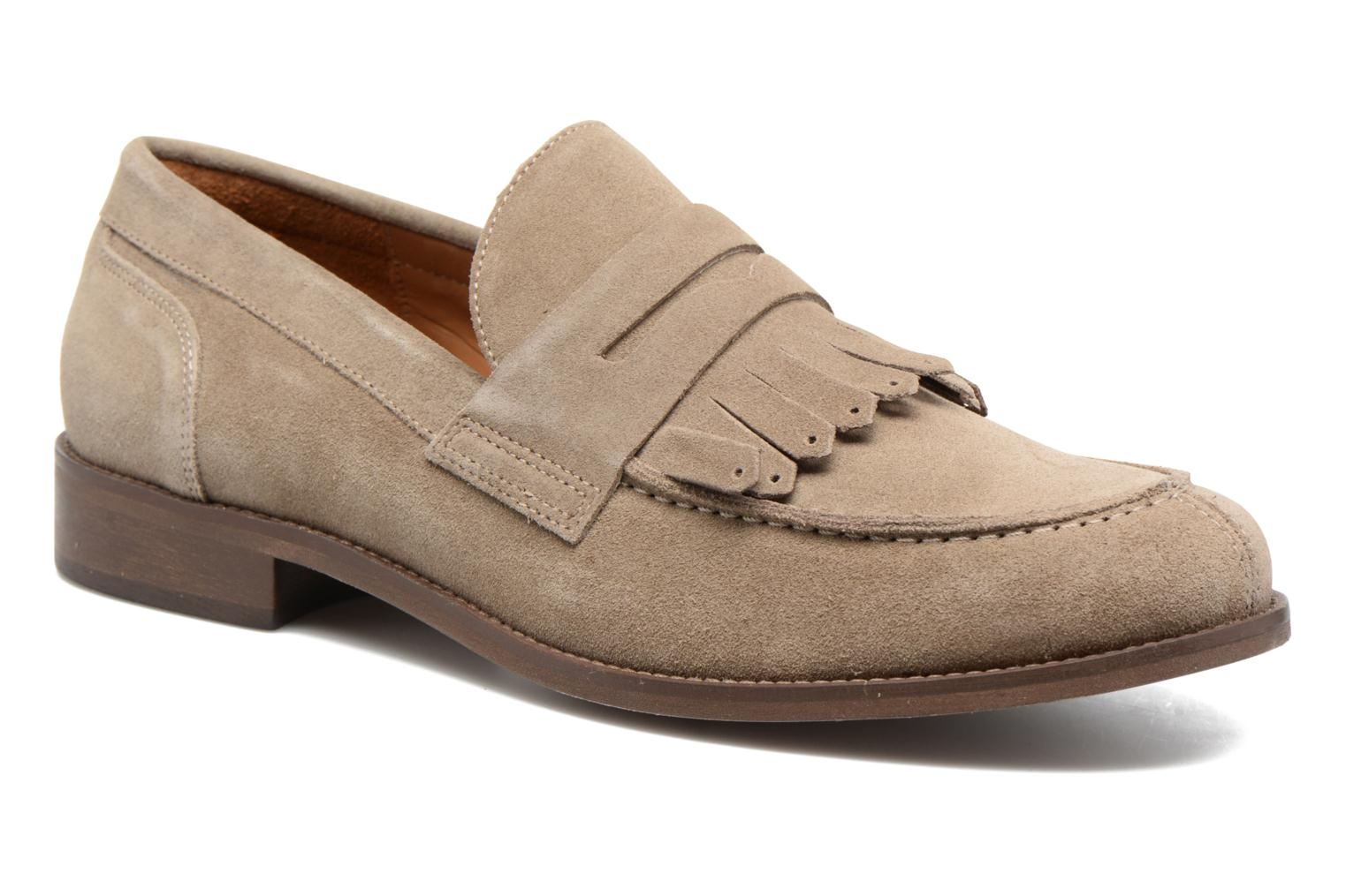 Loafers Marvin&Co Neilston Beige detaljerad bild på paret
