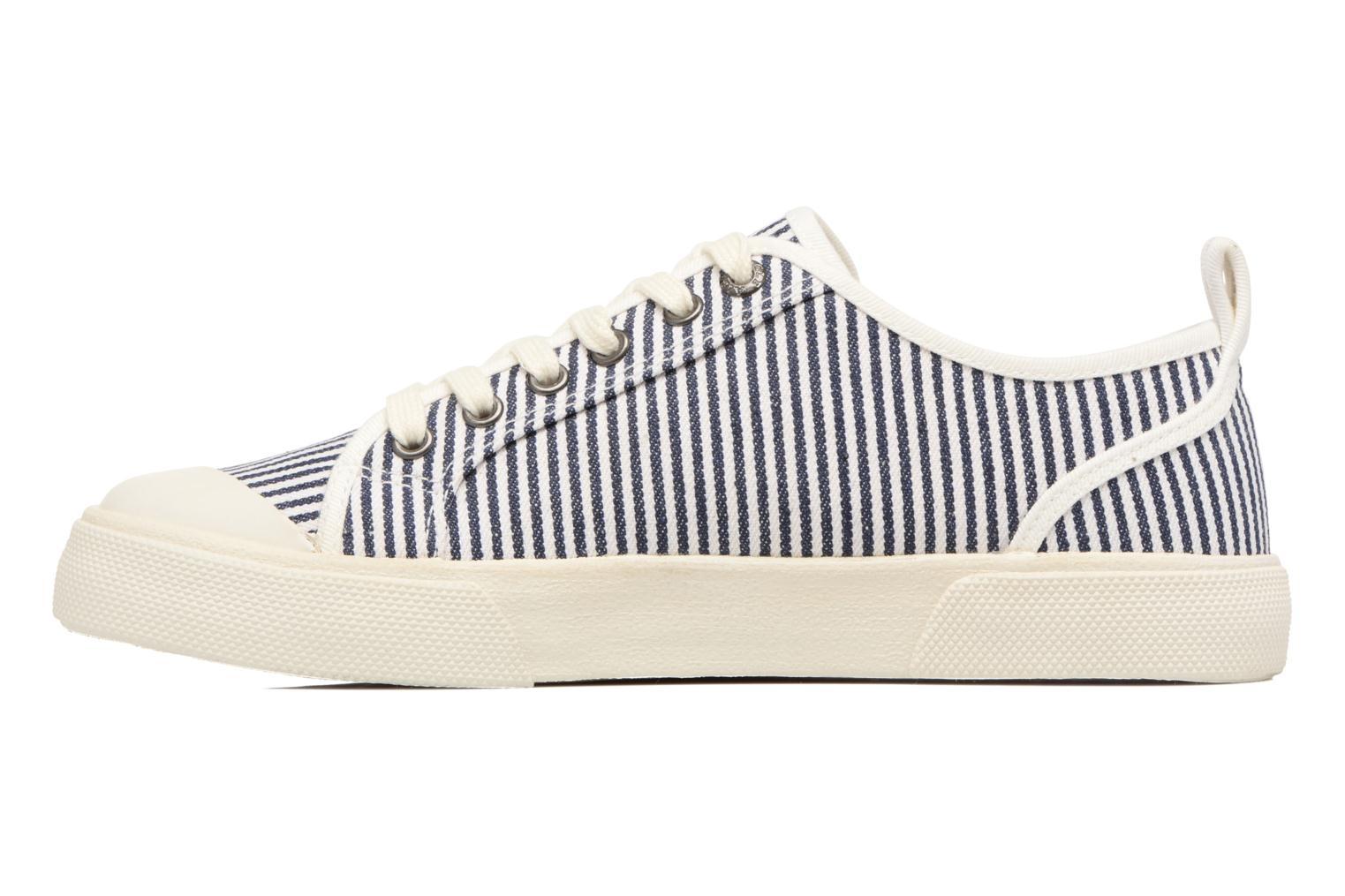 Baskets Aigle Lonasea Low Bleu vue face