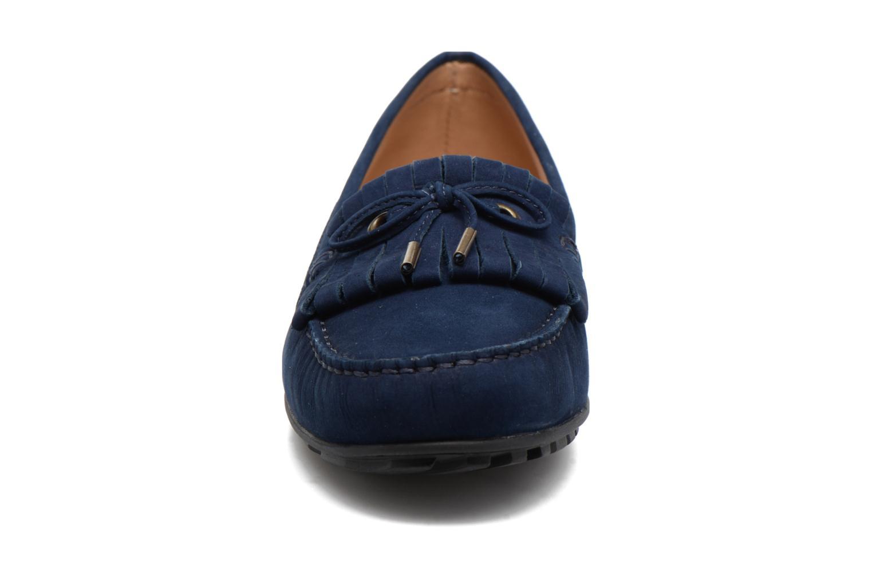 Mocassins Sebago Harper Kiltie Tie Bleu vue portées chaussures