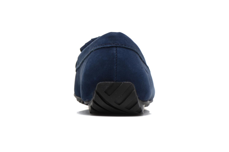 Mocassins Sebago Harper Kiltie Tie Bleu vue droite