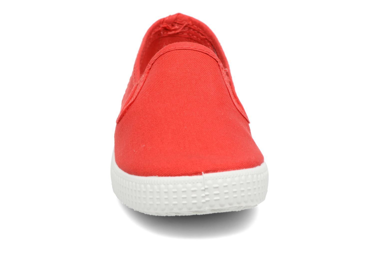 Baskets Cienta Paulo Rouge vue portées chaussures