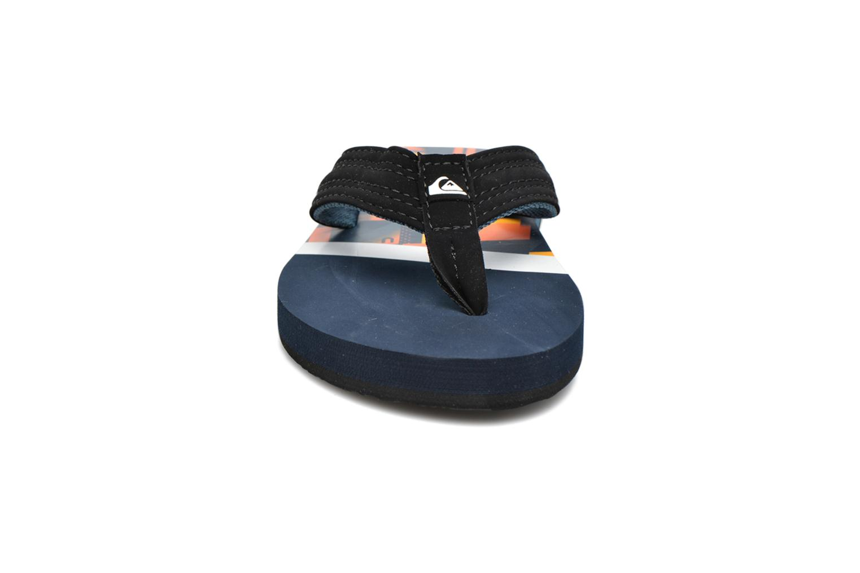 Flip flops Quiksilver Basis-Yt B Blue model view
