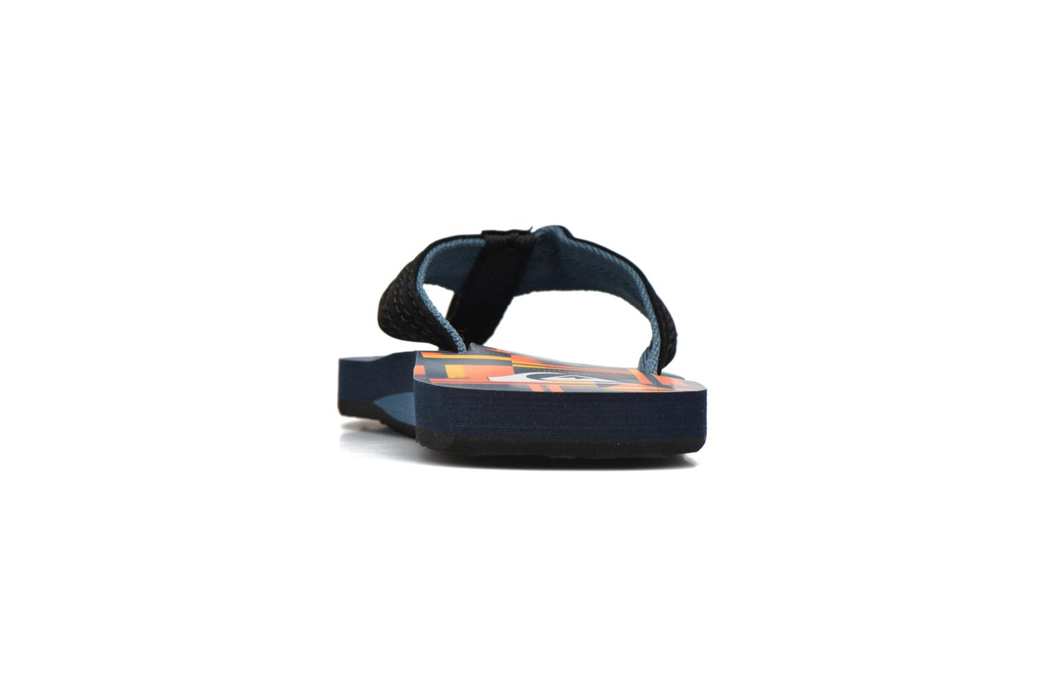 Flip flops Quiksilver Basis-Yt B Blue view from the right