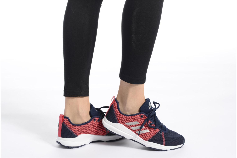 Chaussures de sport Adidas Performance Arianna Cloudfoam Blanc vue bas / vue portée sac