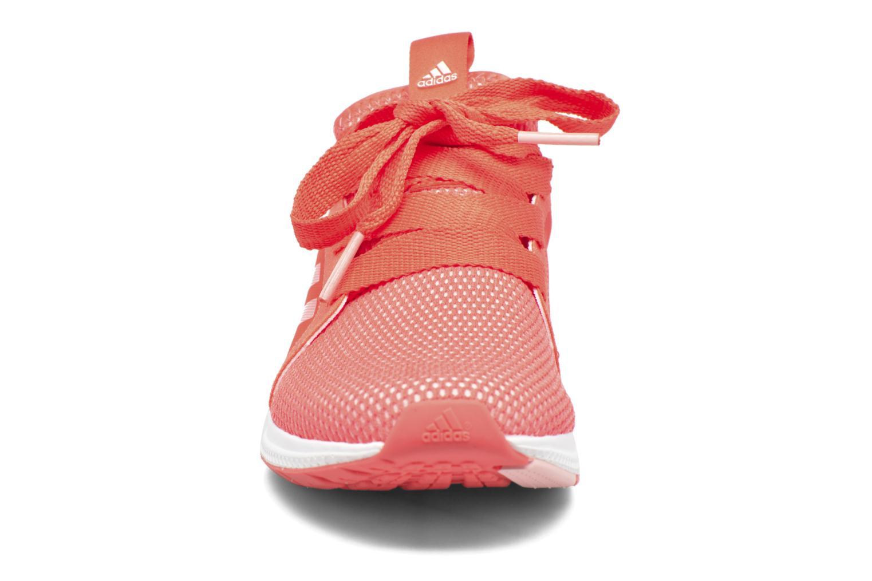 Chaussures de sport Adidas Performance edge lux w Orange vue portées chaussures