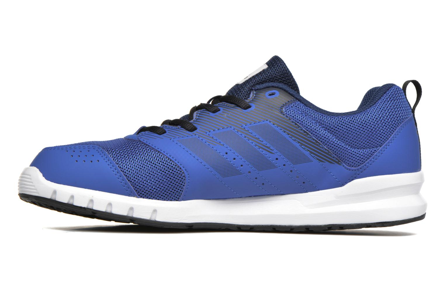 Chaussures de sport Adidas Performance Essential Star 3 M Bleu vue face