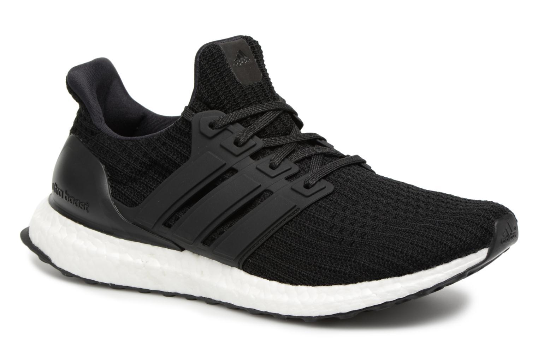 Sportssko Adidas Performance UltraBOOST Sort detaljeret billede af skoene