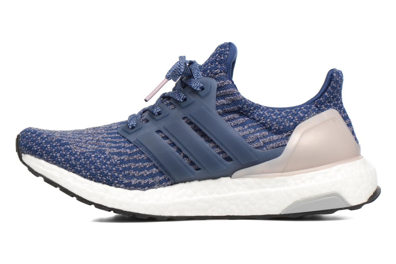 Chaussures de sport Adidas Performance UltraBOOST w Bleu vue face