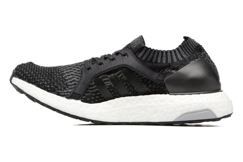 Chaussures de sport Adidas Performance UltraBOOST X Noir vue face