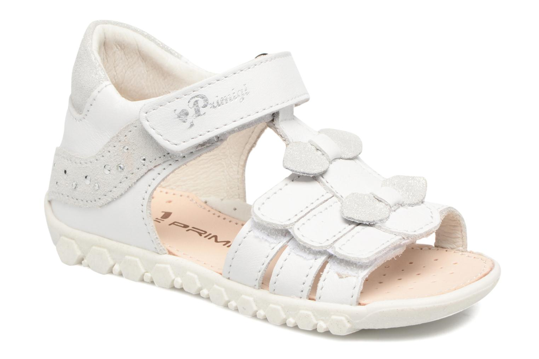 Sandales et nu-pieds Primigi Bruna Blanc vue détail/paire