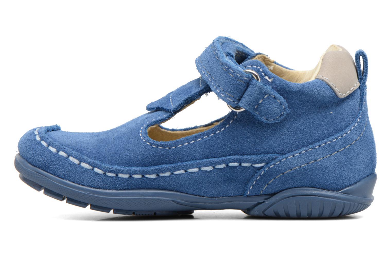 Schoenen met klitteband Primigi Luca Blauw voorkant
