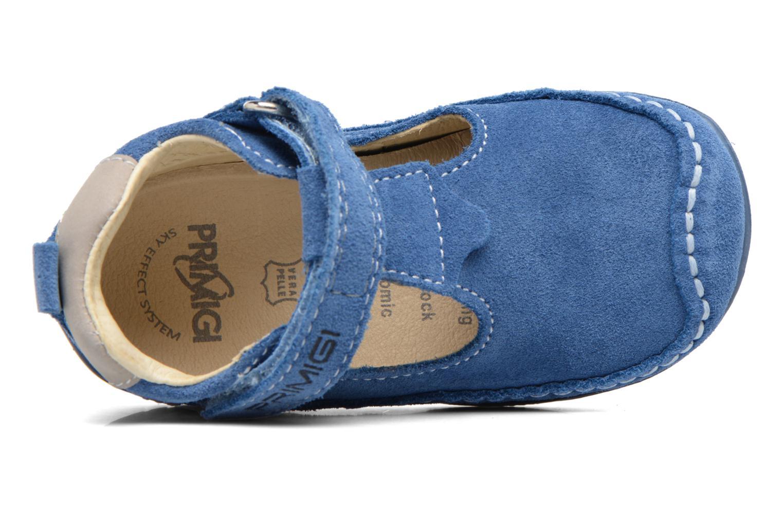 Chaussures à scratch Primigi Luca Bleu vue gauche