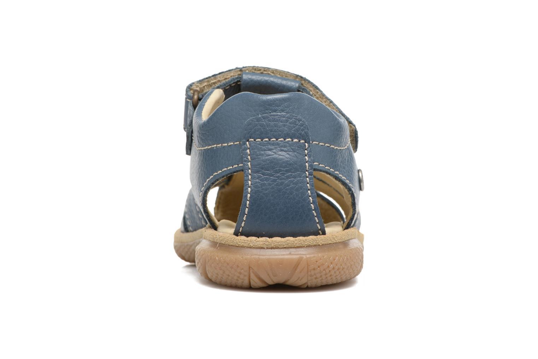 Sandales et nu-pieds Primigi Victorio Bleu vue droite