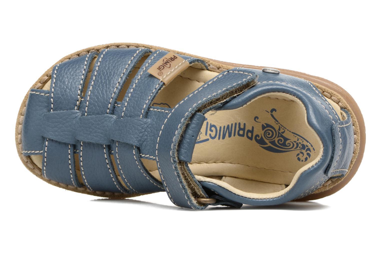 Sandales et nu-pieds Primigi Victorio Bleu vue gauche