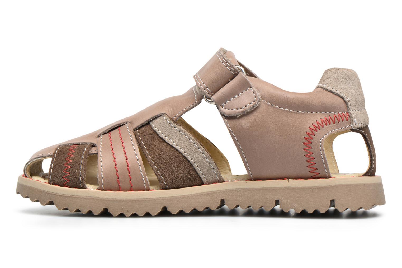 Sandales et nu-pieds Primigi Vasco Beige vue face