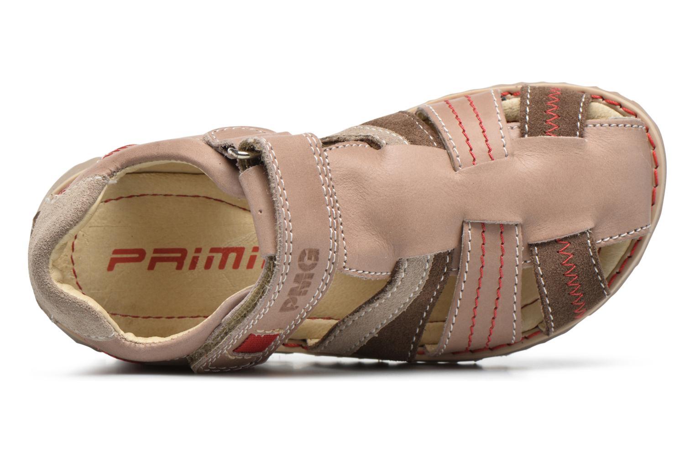 Sandales et nu-pieds Primigi Vasco Beige vue gauche