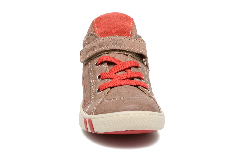 Baskets Primigi Oscar Marron vue portées chaussures