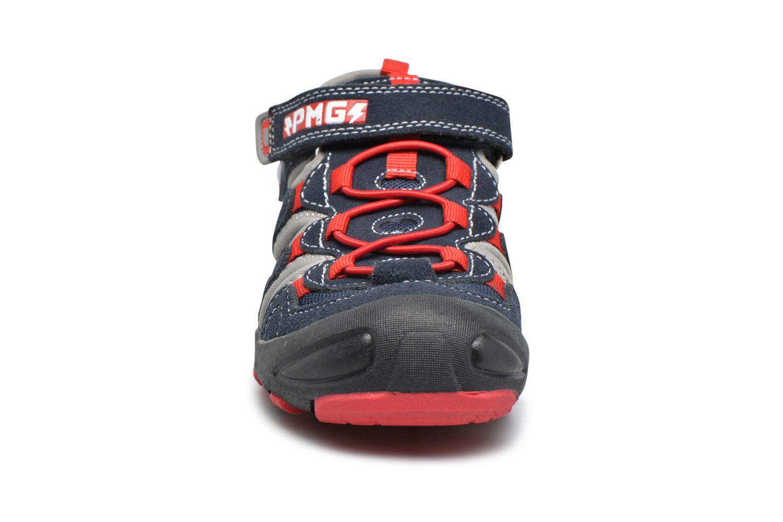 Sandales et nu-pieds Primigi Ulderico Bleu vue portées chaussures