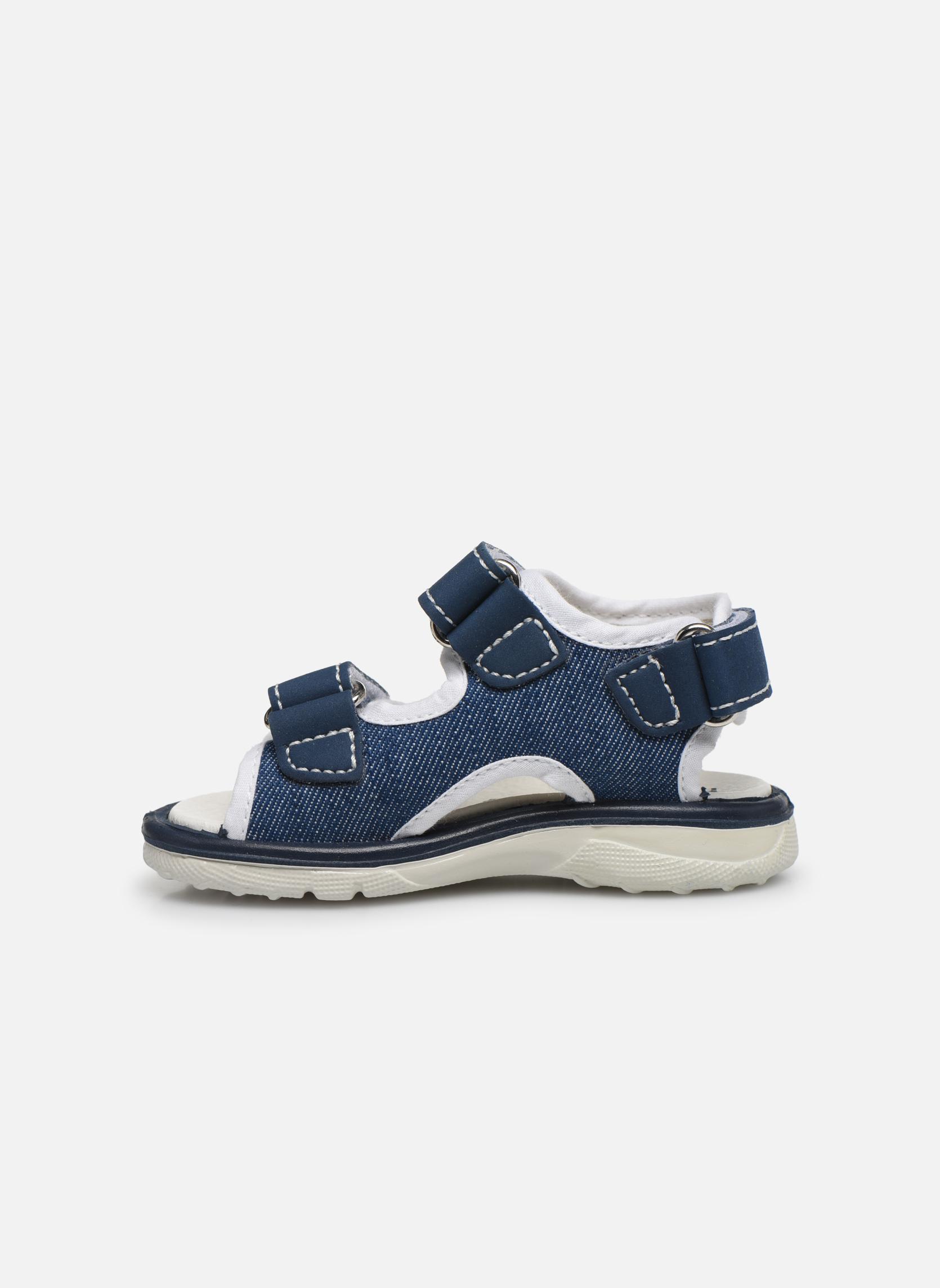 Sandales et nu-pieds Primigi Livio Bleu vue face